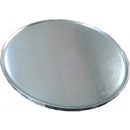 PLATO 33CM INOX INT 30 C/BORDE